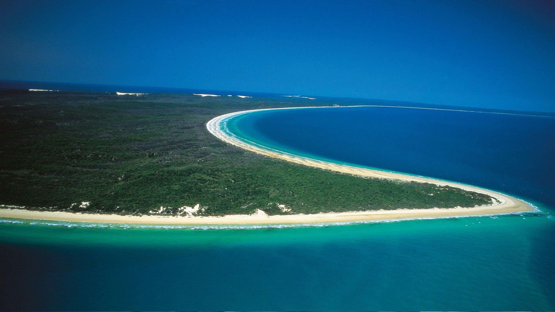 Fraser-island Australia Playa