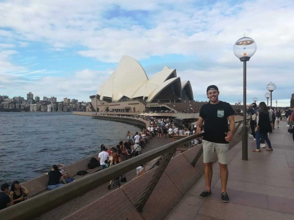Juanma estudiando en Australia